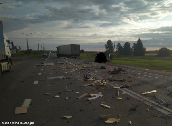 В ДТП в Ярославском районе погиб 1 человек