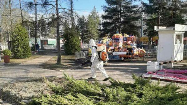 Общественные территории в Ярославле начали обрабатывать от клещей