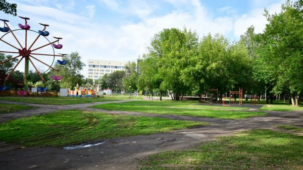 В Ярославле начали благоустраивать Юбилейный парк