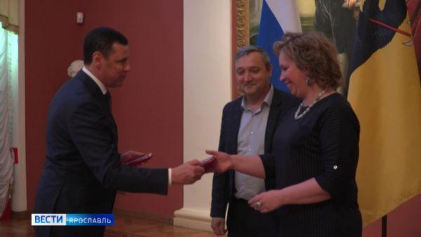 Дмитрий Миронов вручил ярославским семьям медали «За верность родительскому долгу»