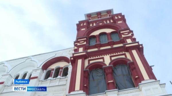 В Рыбинске восстанавливают «Мавританский замок»