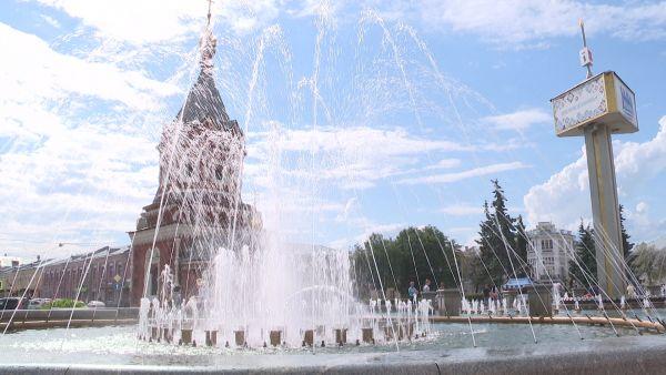 В Ярославле готовят запуск фонтанов на Стрелке