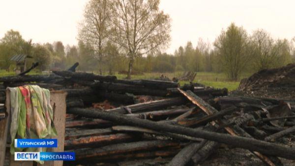 О трагедии в деревне Тараканово Угличского района