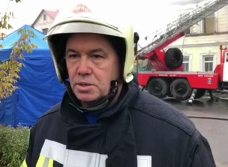 На месте трагедии в Ростове развернут оперативный штаб. Видео с места событий