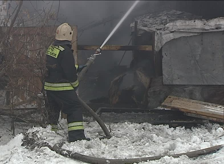 Задержан подозреваемый в поджоге дома на улице Стачек в Ярославле