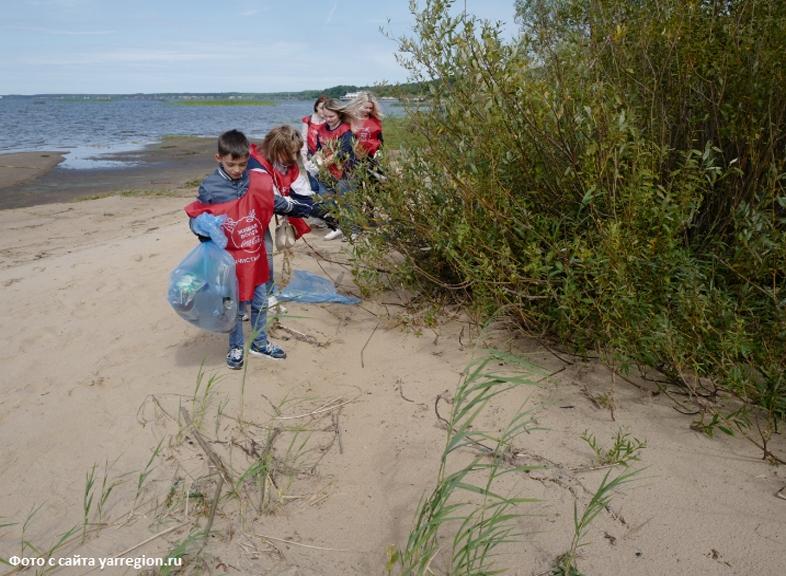 «Живая Волга» собирает всех желающих