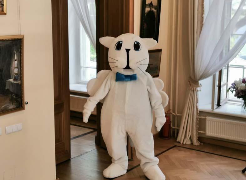 В Ярославском художественном музее ожил кот