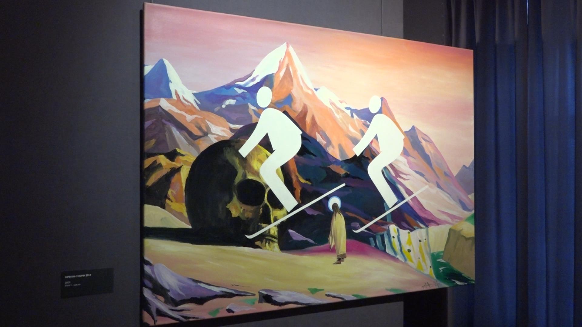 В Ярославском художественном музее открылась персональная выставка Игоря Новикова