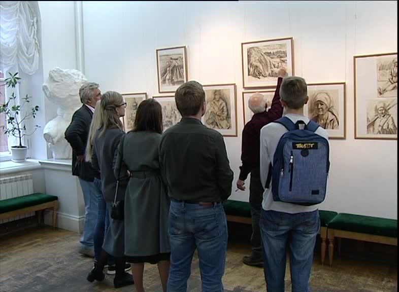 В Ярославском художественном училище открылась выставка, посвященная памяти художника Вячеслава Серебрякова