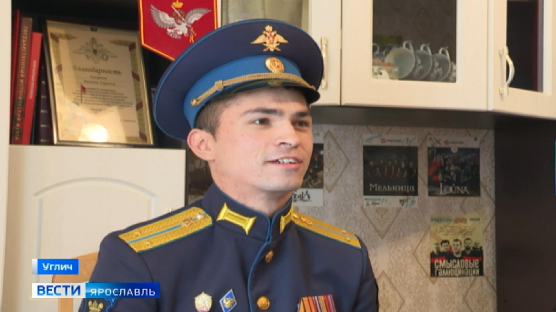 Житель Ярославской области стал военным дирижёром в День Победы