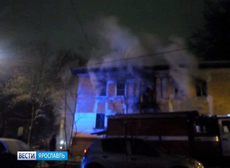 В минувшие выходные в доме №15 по улице Зелинского произошел пожар