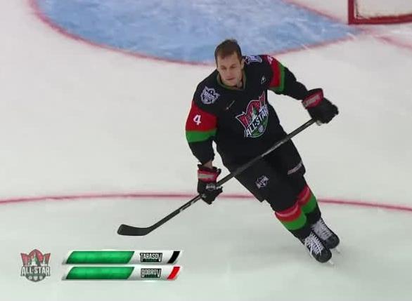 Матч звёзд КХЛ: защитник «Локомотива» выиграл конкурс на самый сильный бросок