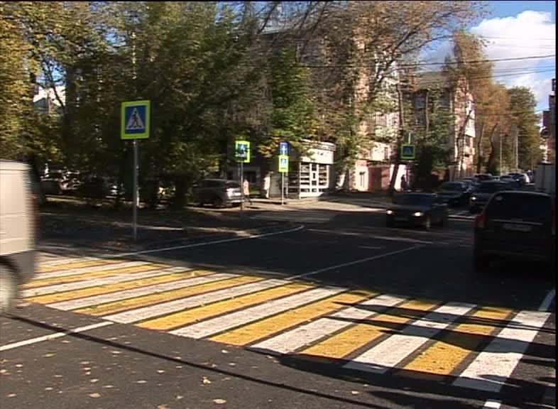 В Ярославле завершился ремонт улиц Чайковского и Салтыкова-Щедрина