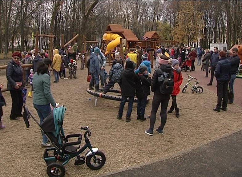 В выходные в Юбилейном парке состоялся праздник по случаю завершения первого этапа благоустройства