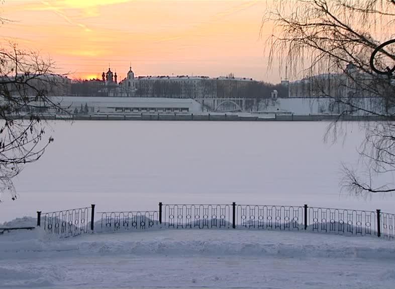 В регионе сохраняется сильный мороз