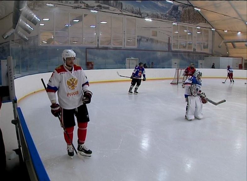Мастер-класс в Некрасовском районе от действующего игрока НХЛ
