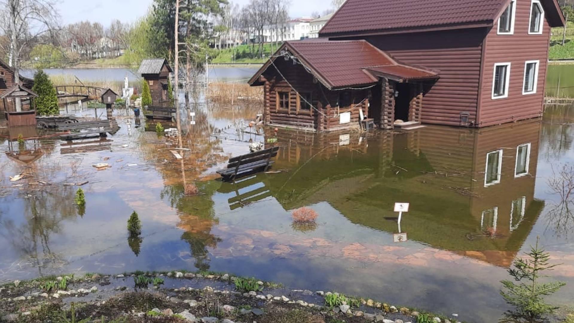 В Ярославской области затопило ландшафтный музей