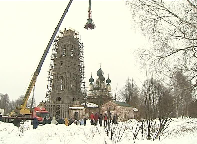 Жители Борисоглебского района восстанавливают храм, которому более 200 лет