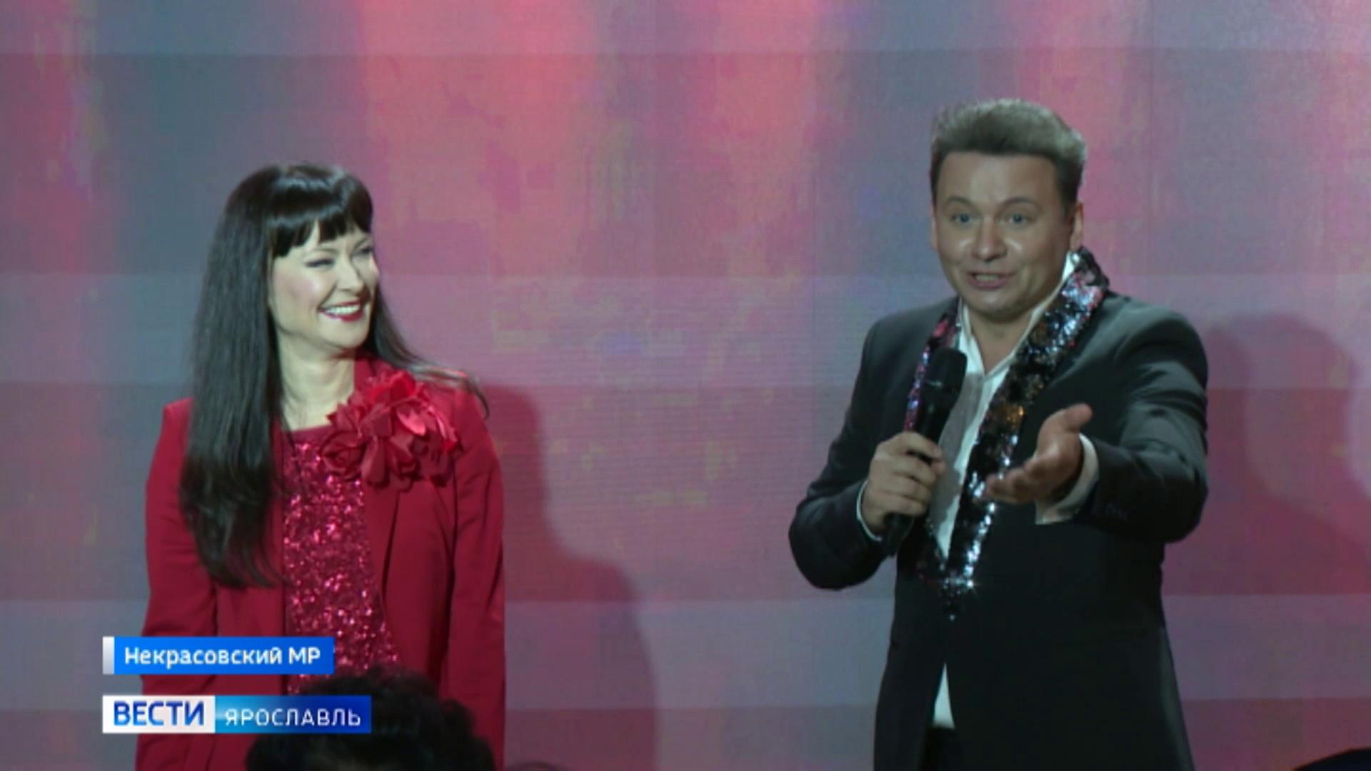 В Вятском прошел концерт Нонны Гришаевой и Александра Олешко