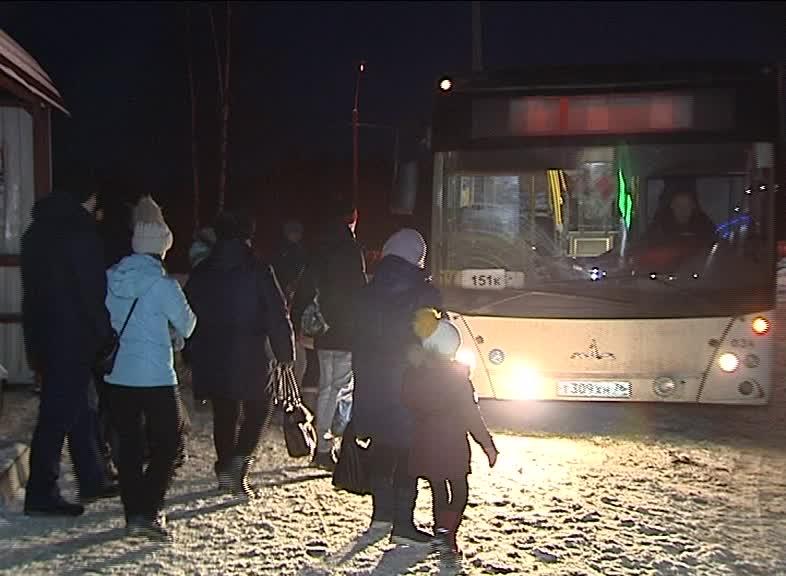 Между Рыбинском, Октябрьским и Ермаково введен дополнительный автобусный маршрут